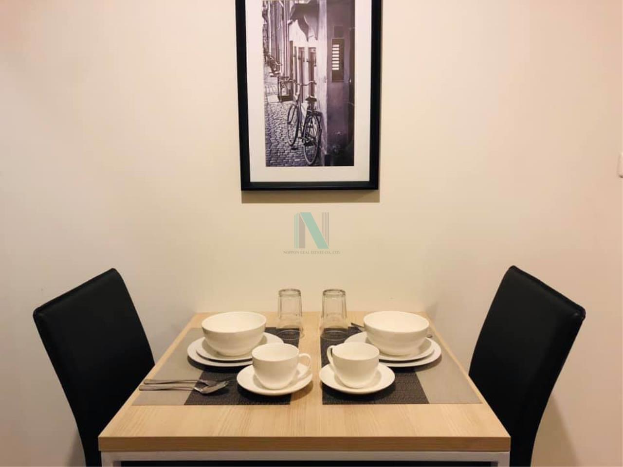 NOPPON REAL ESTATE CO.,LTD.  Agency's For rent The Niche ID Bang Khae 1 bedroom 8th floor Building A 5