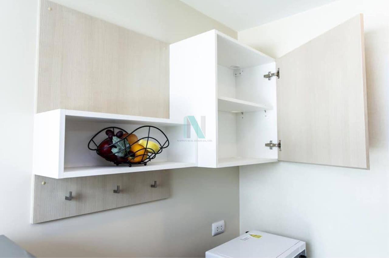 NOPPON REAL ESTATE CO.,LTD.  Agency's For rent The Cube Nawamin-Ramintra 1 bedroom 4th floor Building A 2