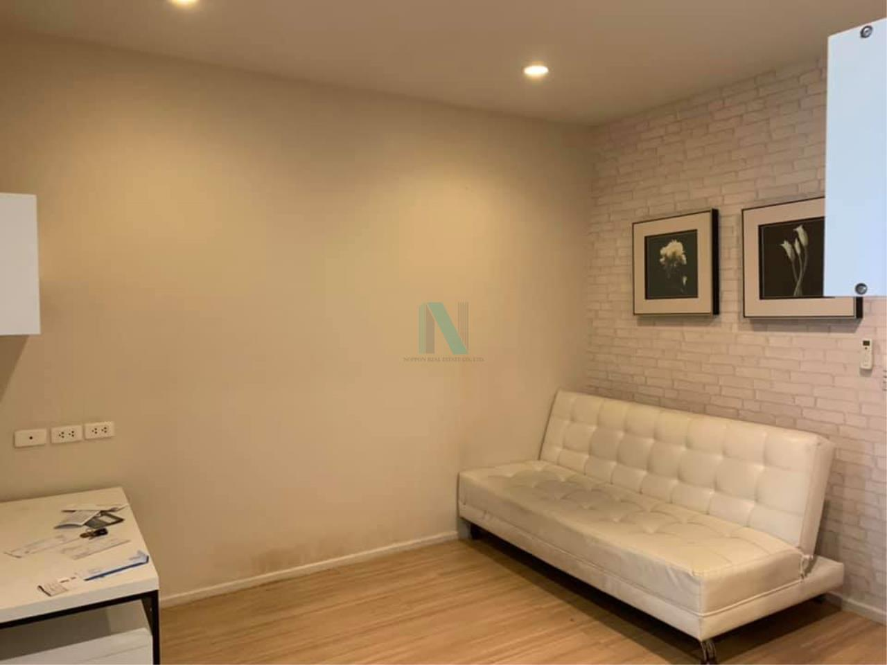 NOPPON REAL ESTATE CO.,LTD.  Agency's For rent Happy Ladprao 101 1 bedroom 2nd floor N building 1