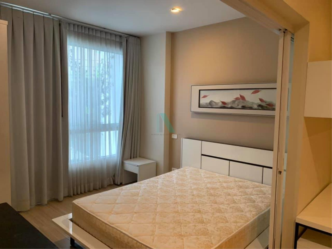 NOPPON REAL ESTATE CO.,LTD.  Agency's For rent Happy Ladprao 101 1 bedroom 2nd floor N building 2