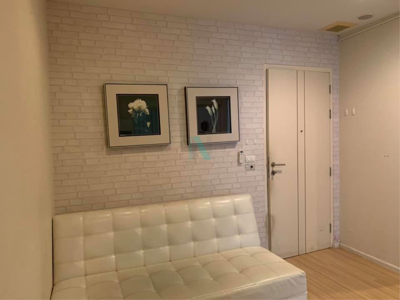 NOPPON REAL ESTATE CO.,LTD.  Agency's For rent Happy Ladprao 101 1 bedroom 2nd floor N building 3