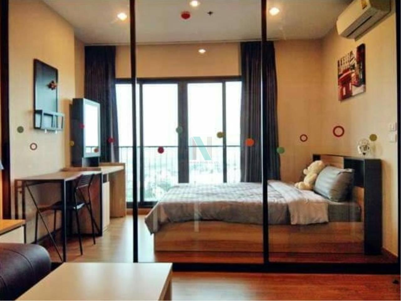 NOPPON REAL ESTATE CO.,LTD.  Agency's For rent The Tree RIO 1 bedroom 26th floor near MRT Bang Aor 8