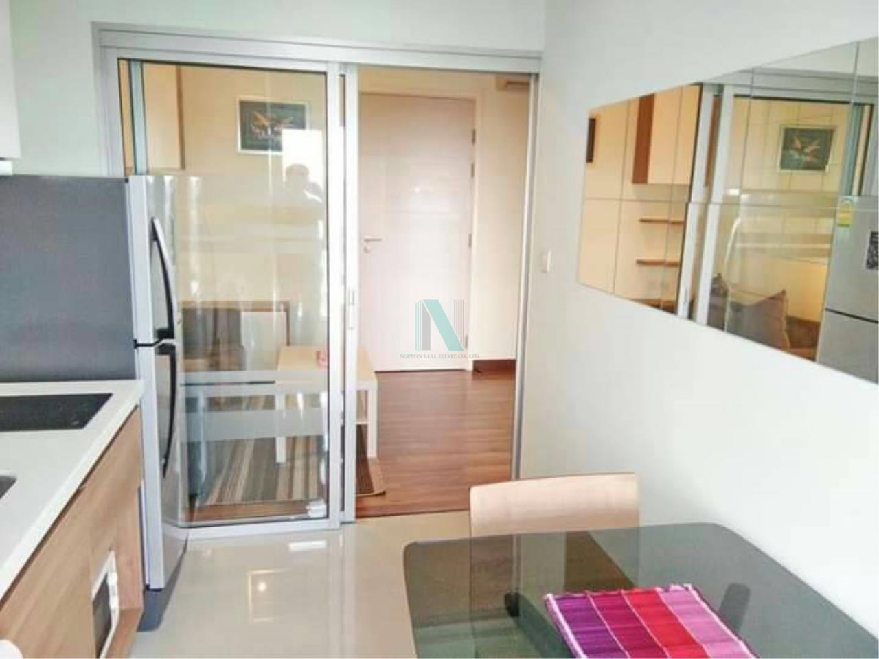 NOPPON REAL ESTATE CO.,LTD.  Agency's For rent Centric Tiwanon Station 1 bedroom 34th floor Building A  6