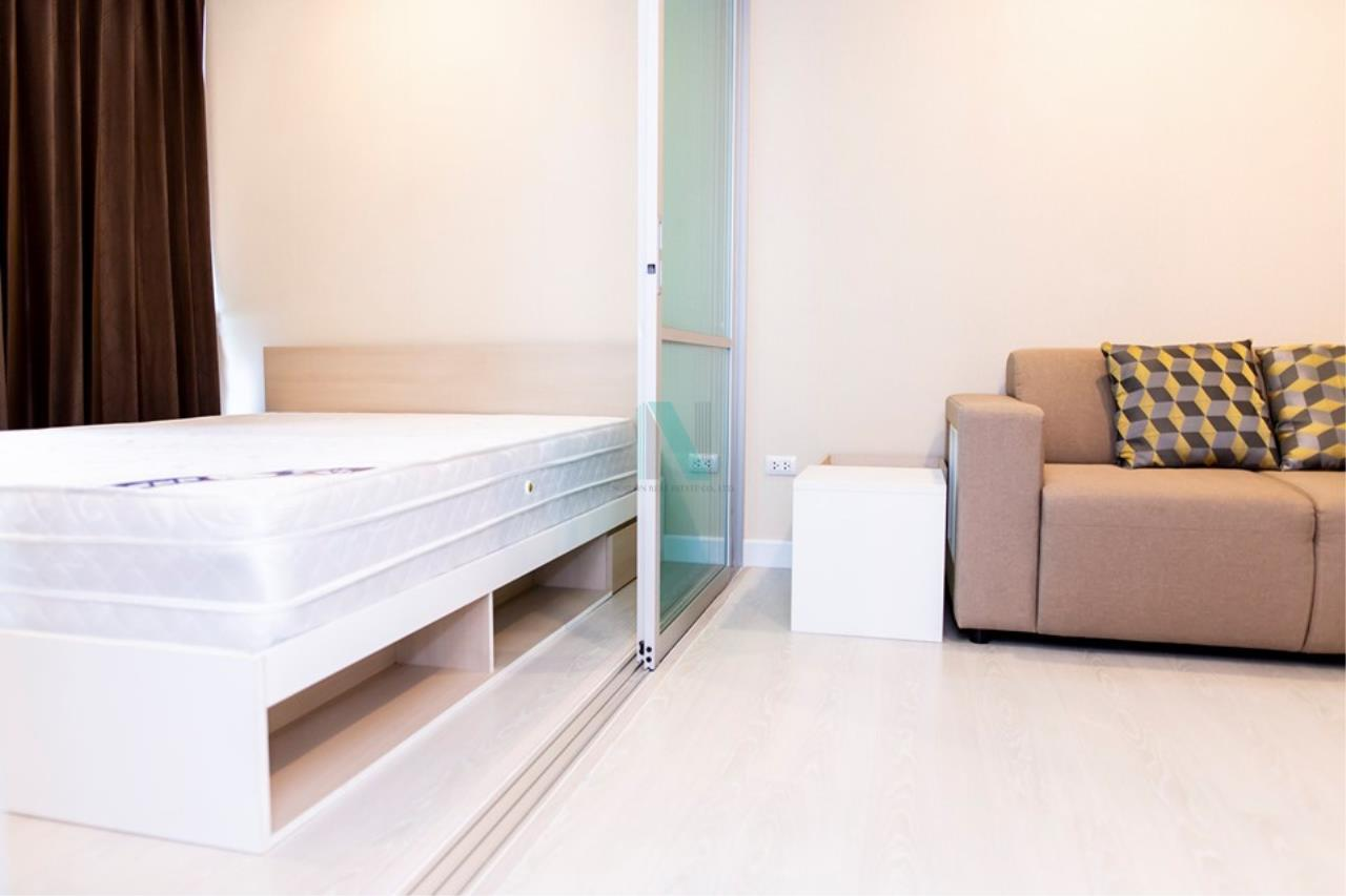 NOPPON REAL ESTATE CO.,LTD.  Agency's For rent The Cube Nawamin - Ramindra 1 bedroom 4th floor Building A 1