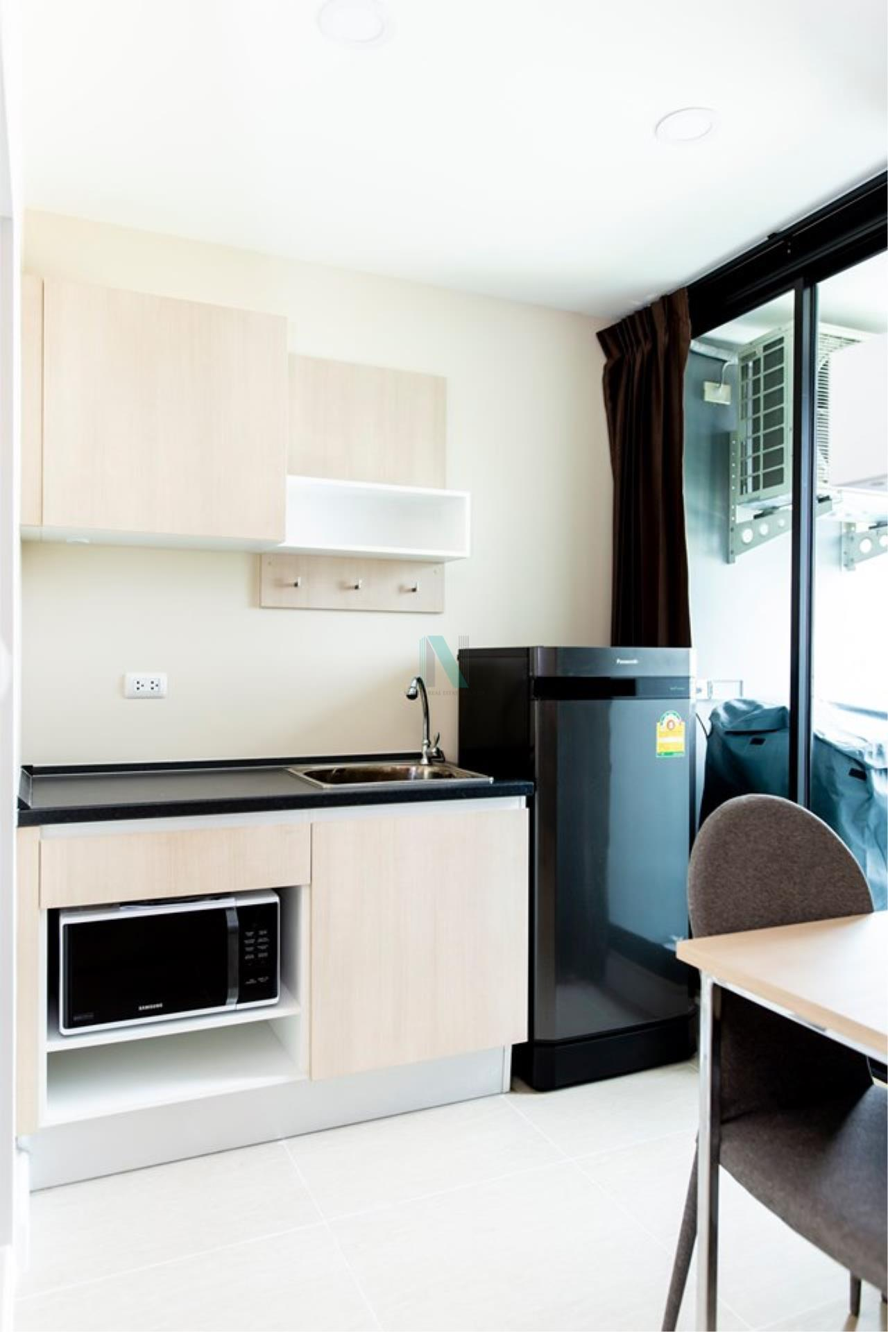 NOPPON REAL ESTATE CO.,LTD.  Agency's For rent The Cube Nawamin - Ramindra 1 bedroom 4th floor Building A 2