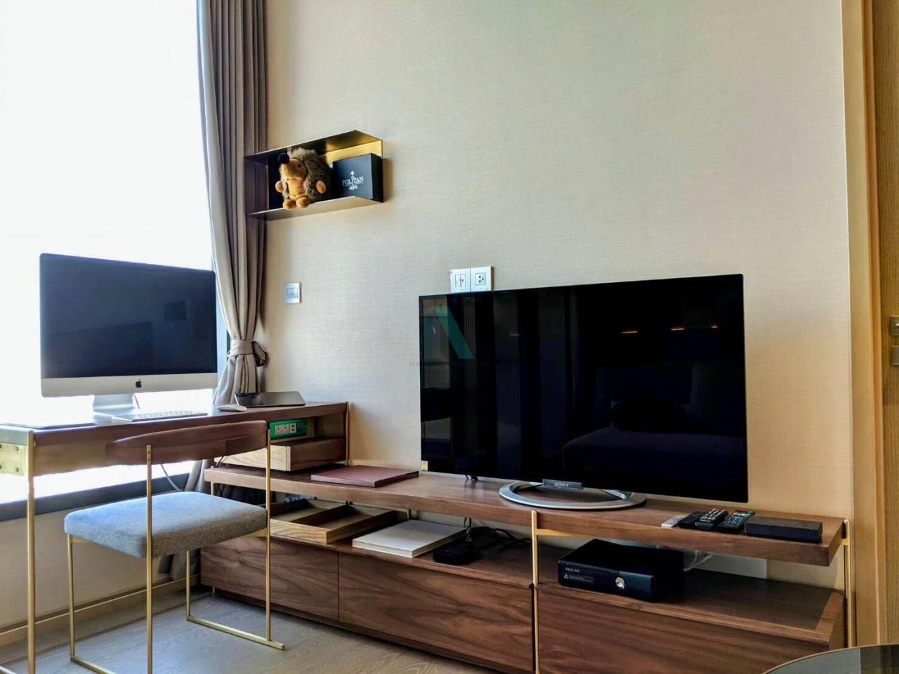 NOPPON REAL ESTATE CO.,LTD. Agency's For rent The ESSE Asoke 1 bedroom, 29 sq.m., corner unit, fully furnished, ready to move in, BTS Asoke. 5