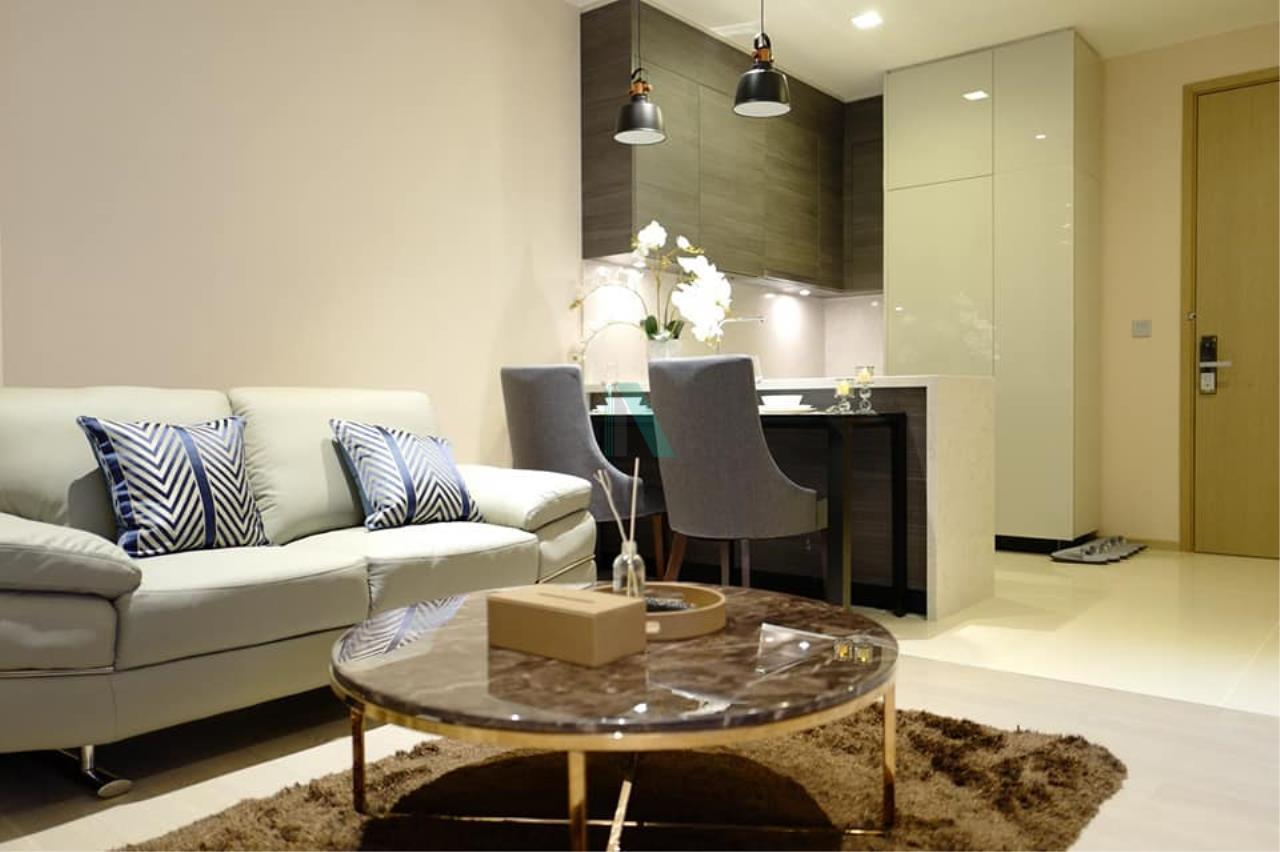 NOPPON REAL ESTATE CO.,LTD. Agency's For rent The Esse Asoke 1 bedroom 36th floor near BTS Asoke 1