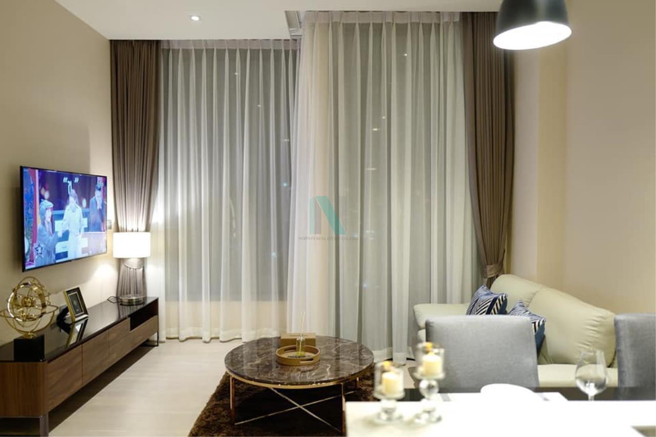 NOPPON REAL ESTATE CO.,LTD. Agency's For rent The Esse Asoke 1 bedroom 36th floor near BTS Asoke 2