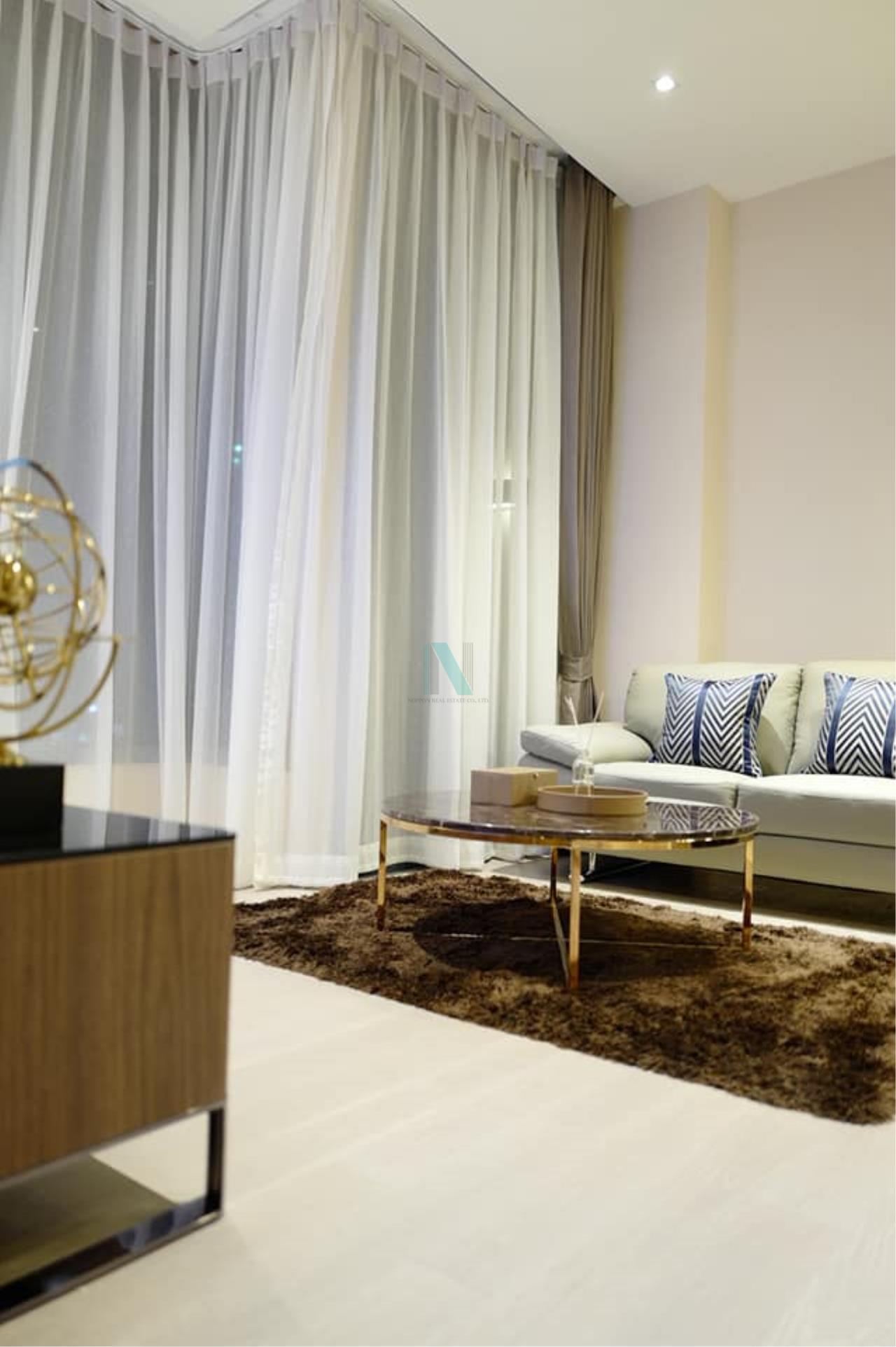 NOPPON REAL ESTATE CO.,LTD. Agency's For rent The Esse Asoke 1 bedroom 36th floor near BTS Asoke 4