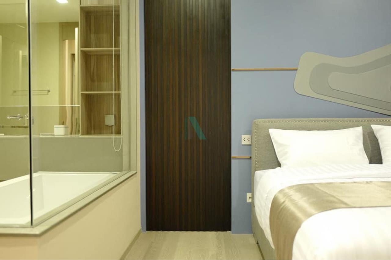 NOPPON REAL ESTATE CO.,LTD. Agency's For rent The Esse Asoke 1 bedroom 36th floor near BTS Asoke 5