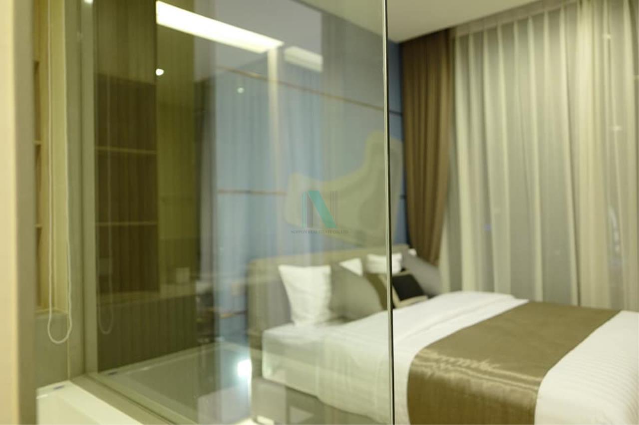 NOPPON REAL ESTATE CO.,LTD. Agency's For rent The Esse Asoke 1 bedroom 36th floor near BTS Asoke 7