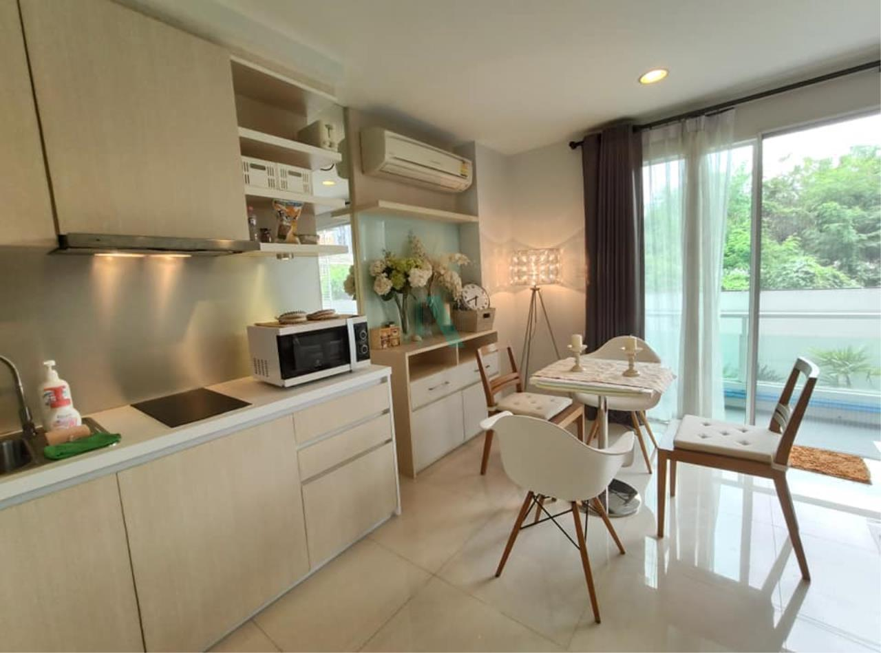 NOPPON REAL ESTATE CO.,LTD.  Agency's For rent WHIZDOM THE EXCLUSIVE 1 Bedroom 44.5 sqm. Floor 2 near BTS Punnawithi 400 m. 1