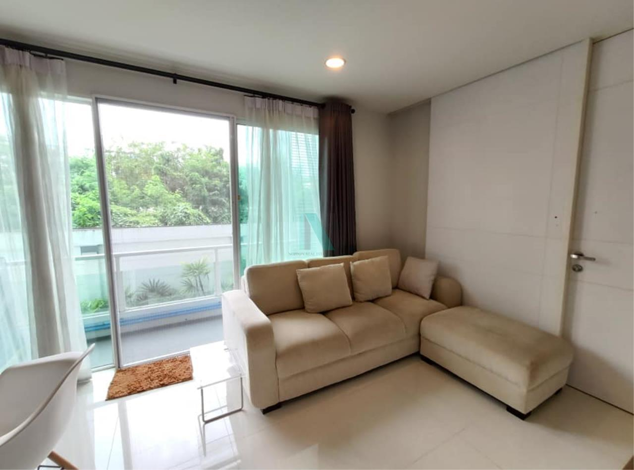 NOPPON REAL ESTATE CO.,LTD.  Agency's For rent WHIZDOM THE EXCLUSIVE 1 Bedroom 44.5 sqm. Floor 2 near BTS Punnawithi 400 m. 2