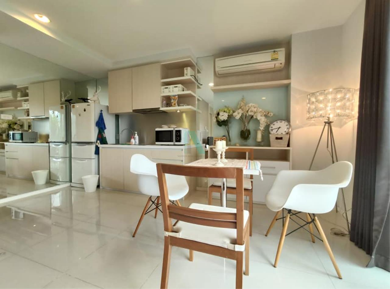 NOPPON REAL ESTATE CO.,LTD.  Agency's For rent WHIZDOM THE EXCLUSIVE 1 Bedroom 44.5 sqm. Floor 2 near BTS Punnawithi 400 m. 4