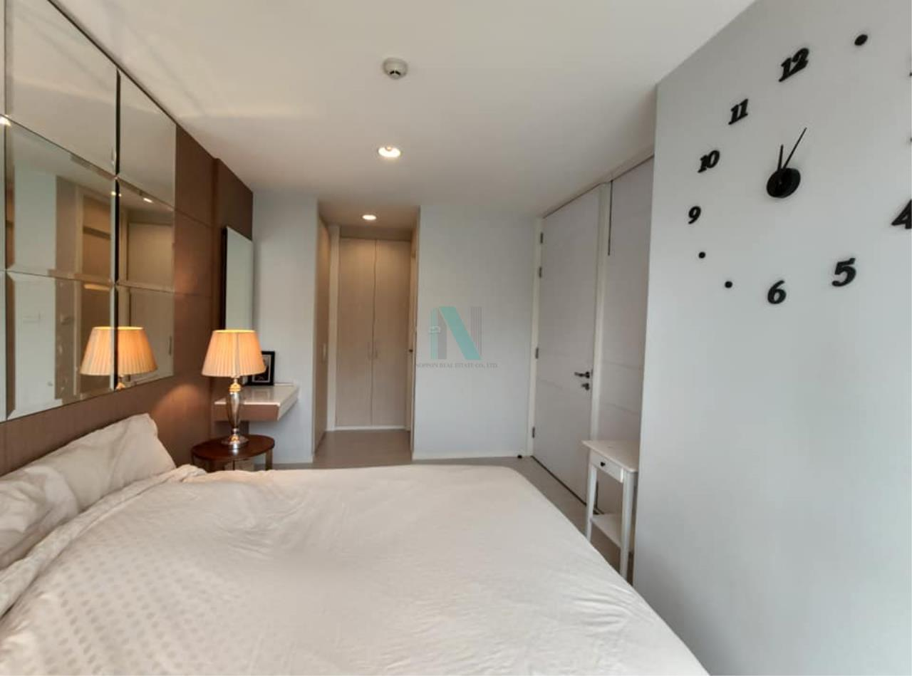 NOPPON REAL ESTATE CO.,LTD.  Agency's For rent WHIZDOM THE EXCLUSIVE 1 Bedroom 44.5 sqm. Floor 2 near BTS Punnawithi 400 m. 5