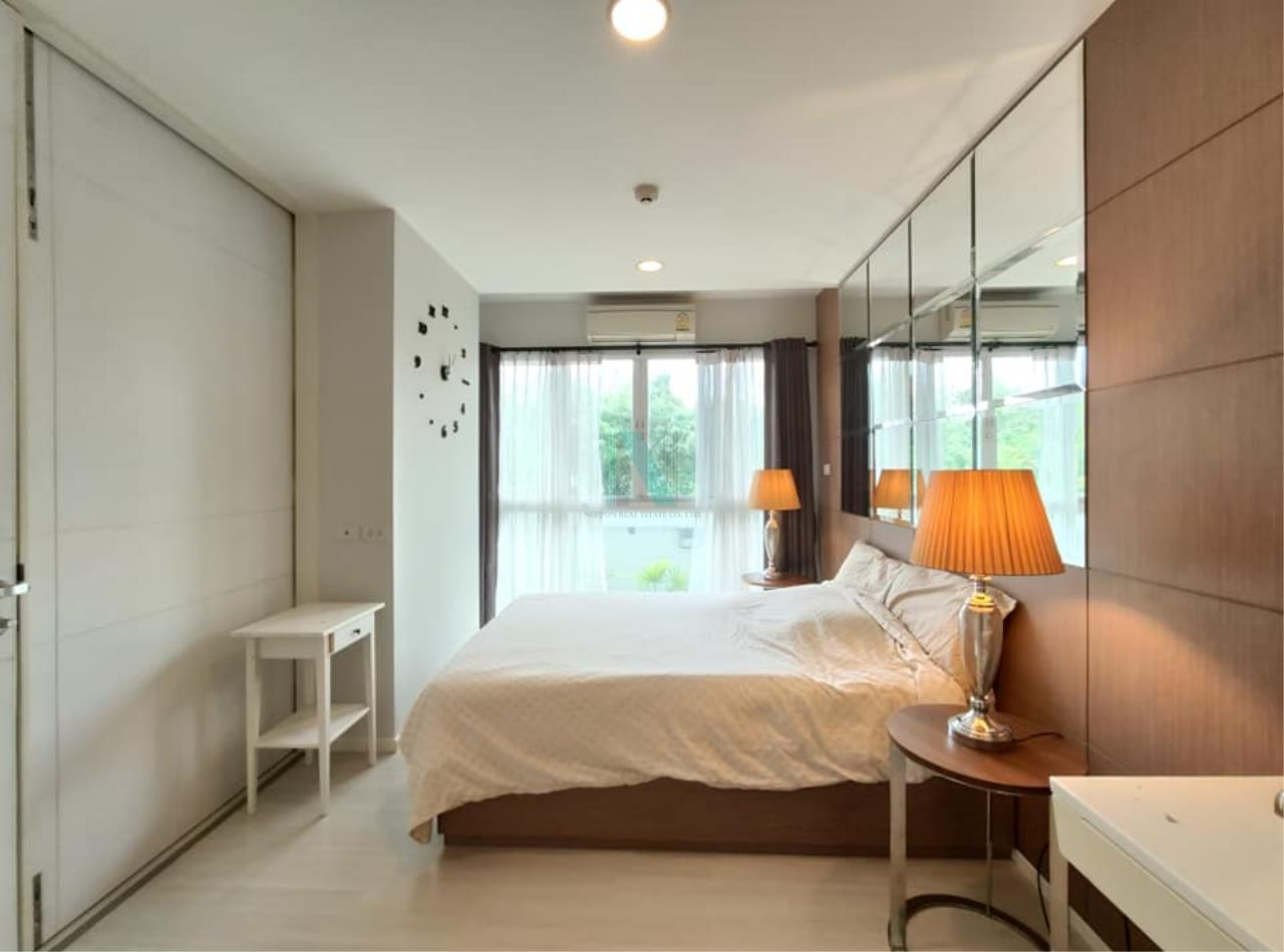 NOPPON REAL ESTATE CO.,LTD.  Agency's For rent WHIZDOM THE EXCLUSIVE 1 Bedroom 44.5 sqm. Floor 2 near BTS Punnawithi 400 m. 6