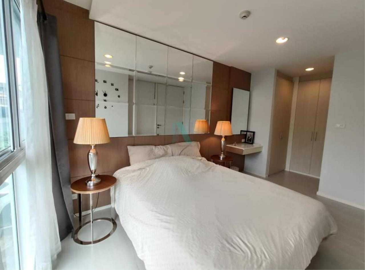 NOPPON REAL ESTATE CO.,LTD.  Agency's For rent WHIZDOM THE EXCLUSIVE 1 Bedroom 44.5 sqm. Floor 2 near BTS Punnawithi 400 m. 7