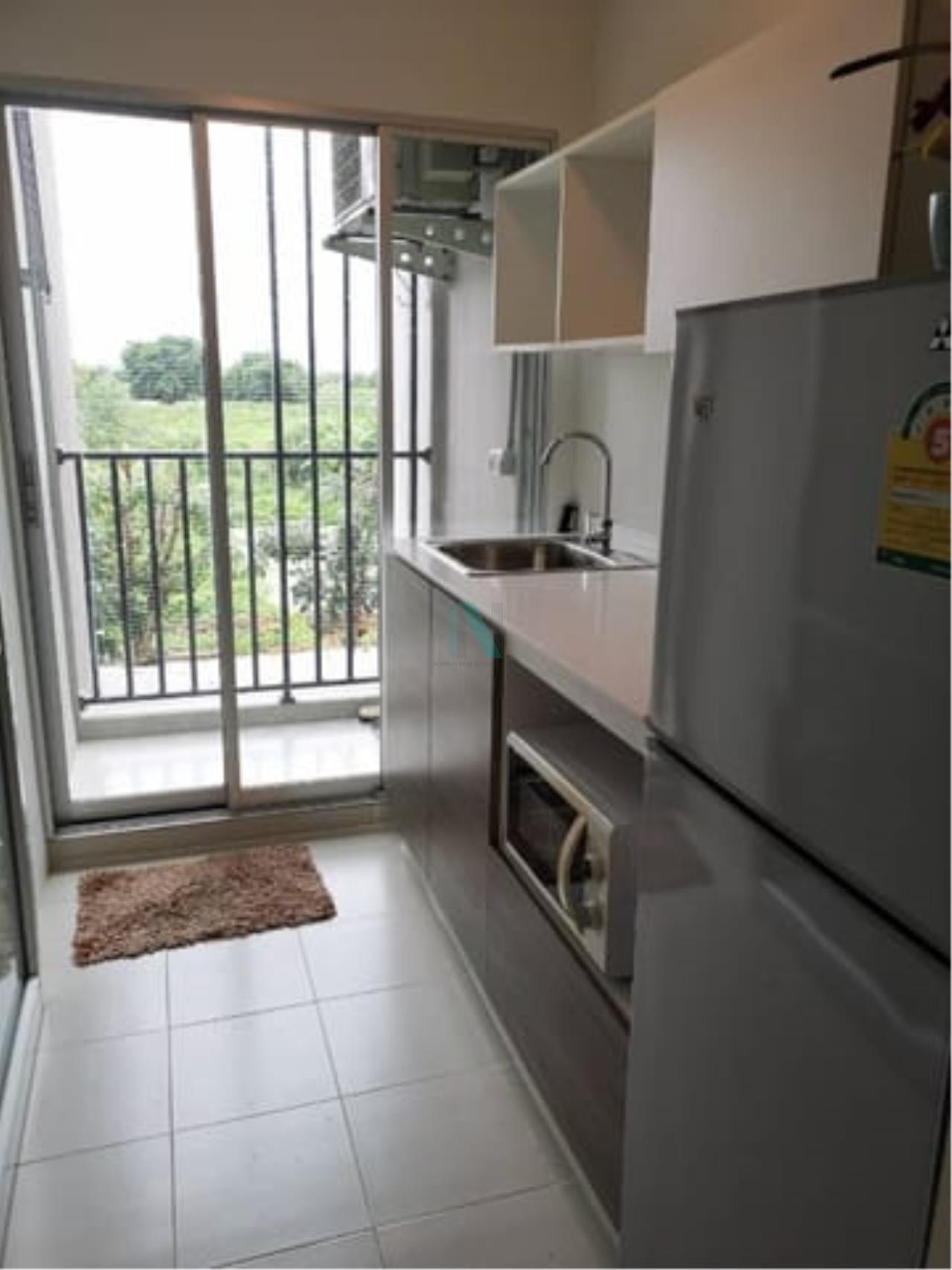 NOPPON REAL ESTATE CO.,LTD.  Agency's For rent D Condo Campus Resort Bangna 1 bedroom 3rd floor Building C  2