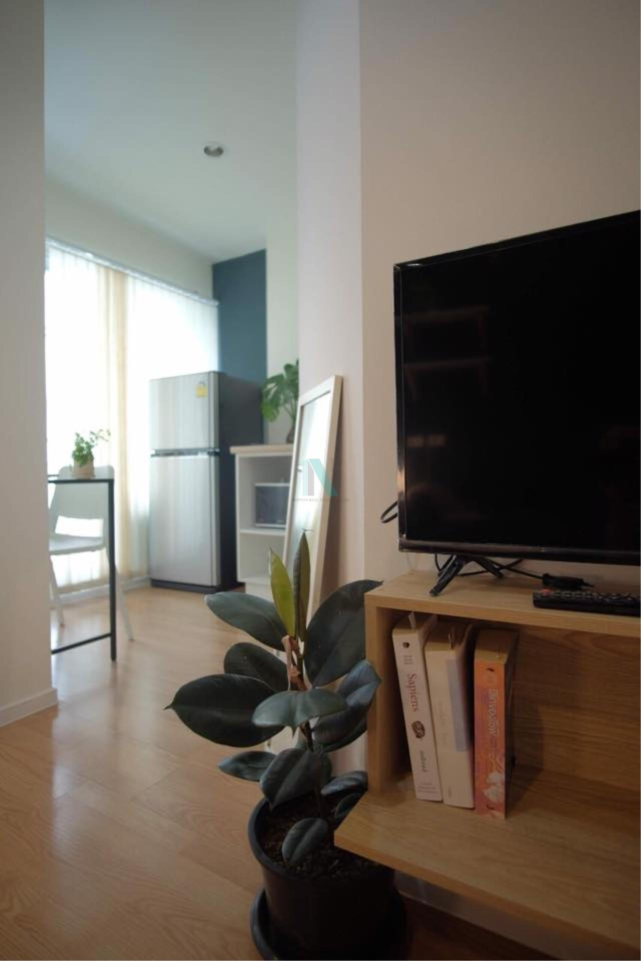 NOPPON REAL ESTATE CO.,LTD.  Agency's For rent Lumpini Ville On Nut 46 1 bedroom 3rd floor Building A2  5