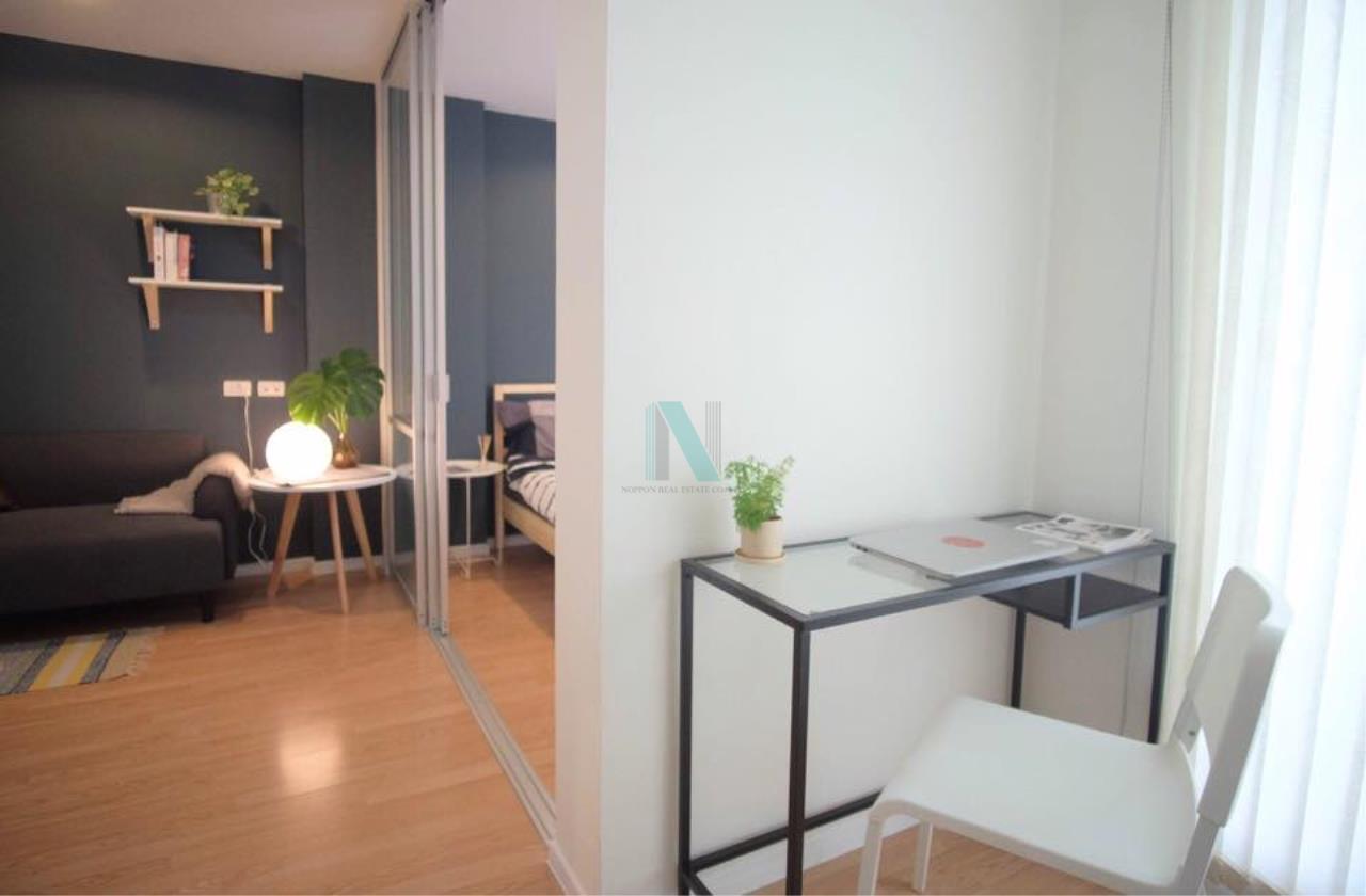 NOPPON REAL ESTATE CO.,LTD.  Agency's For rent Lumpini Ville On Nut 46 1 bedroom 3rd floor Building A2  6