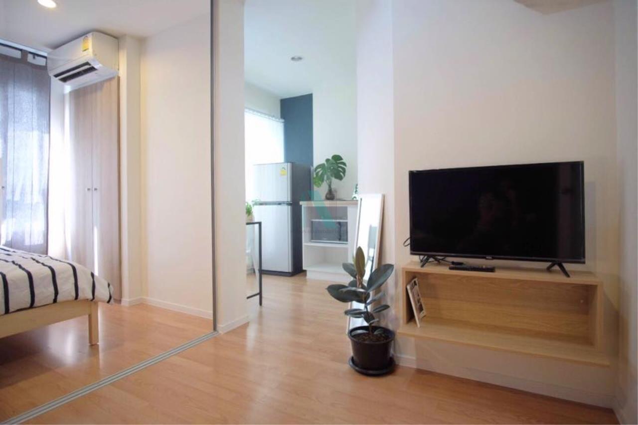 NOPPON REAL ESTATE CO.,LTD.  Agency's For rent Lumpini Ville On Nut 46 1 bedroom 3rd floor Building A2  7