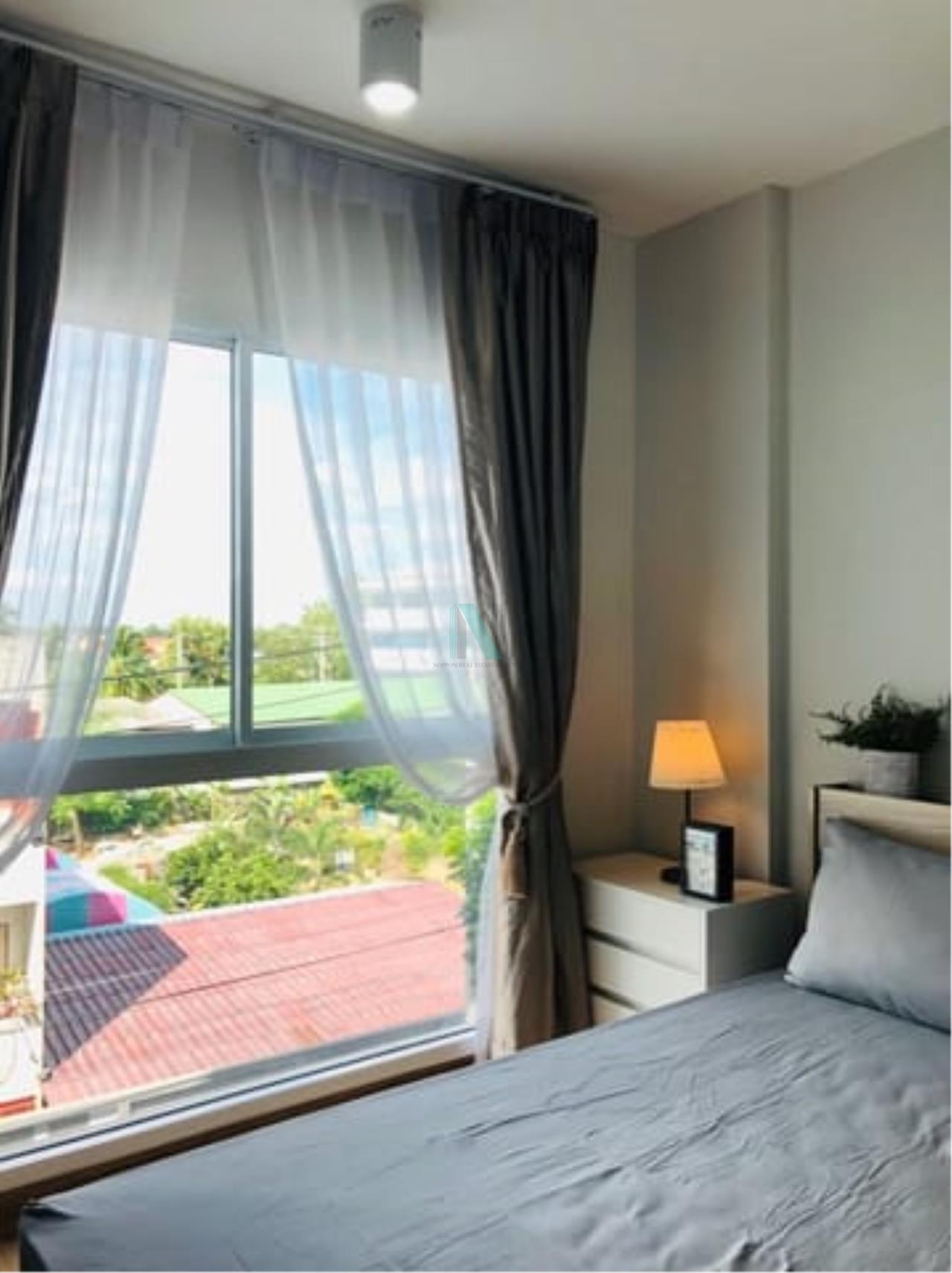 NOPPON REAL ESTATE CO.,LTD.  Agency's For rent The Iris Bangyai 1 bedroom 4th floor Building A  3