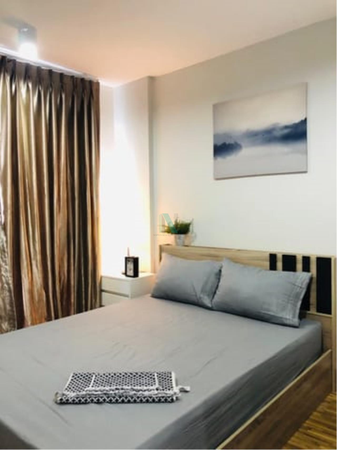 NOPPON REAL ESTATE CO.,LTD.  Agency's For rent The Iris Bangyai 1 bedroom 4th floor Building A  6