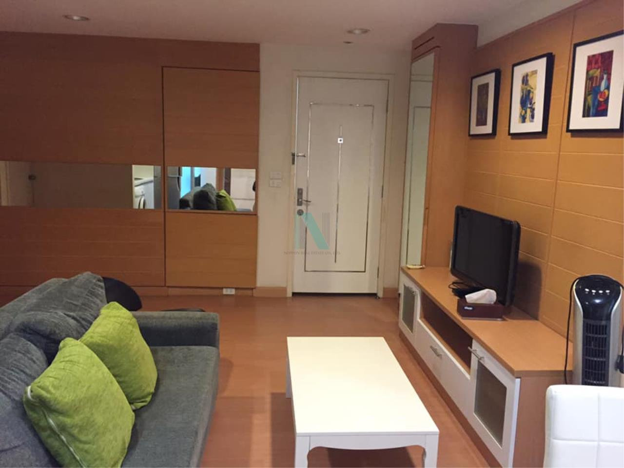 NOPPON REAL ESTATE CO.,LTD.  Agency's For rent The Bangkok Thanon Sub 1 Bedroom Floor 2 Building C  4