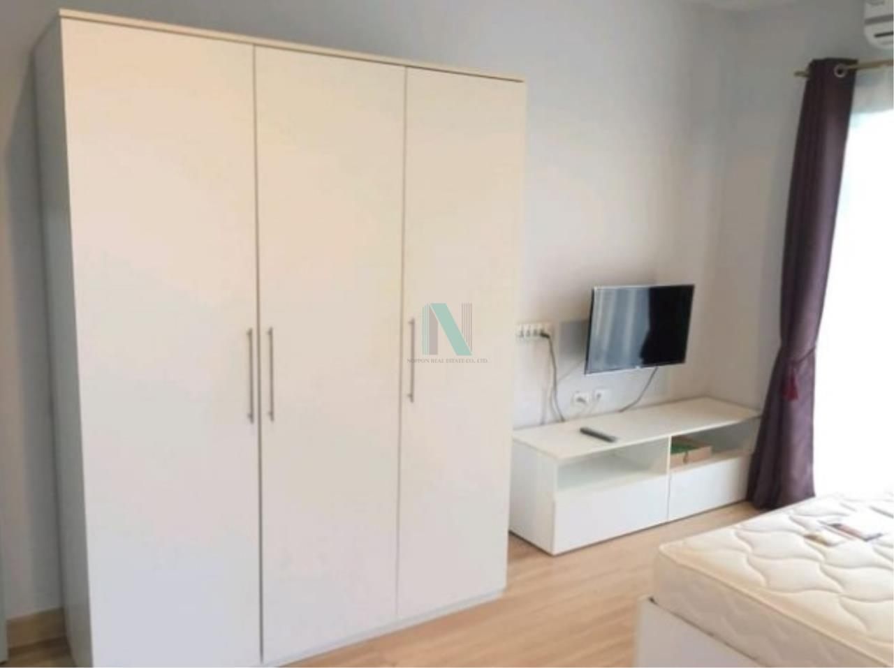NOPPON REAL ESTATE CO.,LTD.  Agency's For rent, The Kith Tiwanon, 2 bedrooms, size 57.90 sq.m., fully furnished and ready to move in. 2