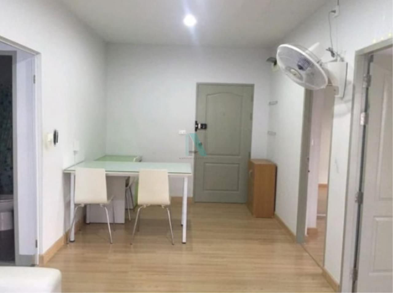NOPPON REAL ESTATE CO.,LTD.  Agency's For rent, The Kith Tiwanon, 2 bedrooms, size 57.90 sq.m., fully furnished and ready to move in. 5