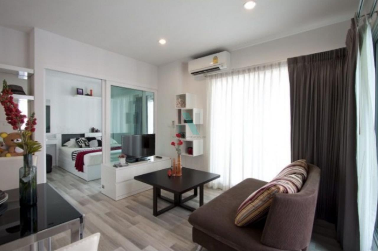 NOPPON REAL ESTATE CO.,LTD.  Agency's For rent, the key Chaengwattana, 34.5 sq.m., 1 bedroom, corner unit. 1