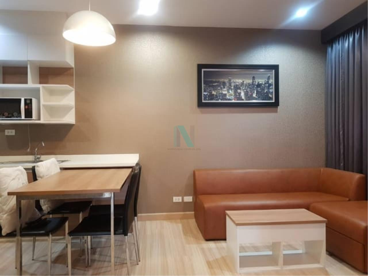 NOPPON REAL ESTATE CO.,LTD.  Agency's For rent, The Hotel Service Condo, 2 bedrooms, 45 sqm, fully furnished, ready to move in 2