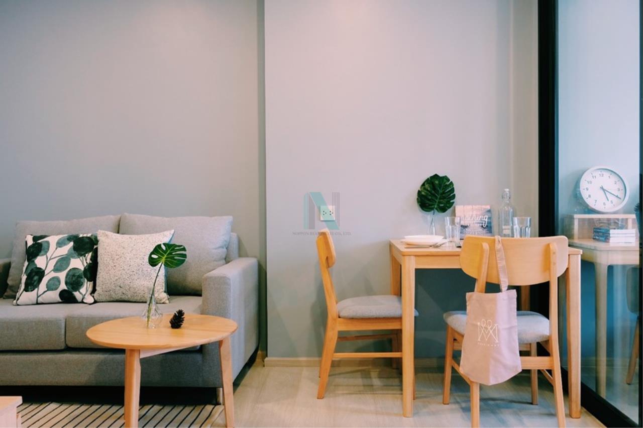 NOPPON REAL ESTATE CO.,LTD. Agency's For rent Life Asoke 1 Bedroom 32th floor near MRT Phetchaburi 3