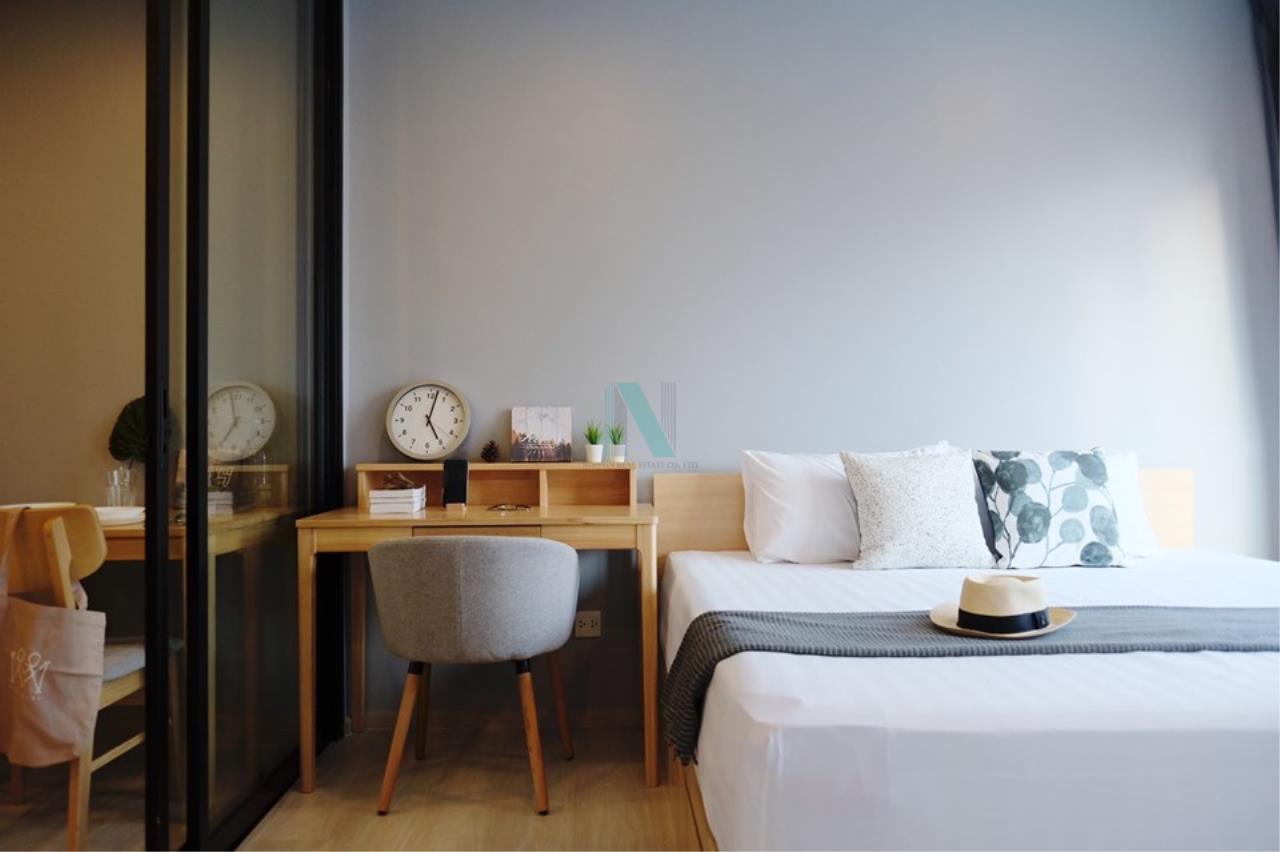 NOPPON REAL ESTATE CO.,LTD. Agency's For rent Life Asoke 1 Bedroom 32th floor near MRT Phetchaburi 4