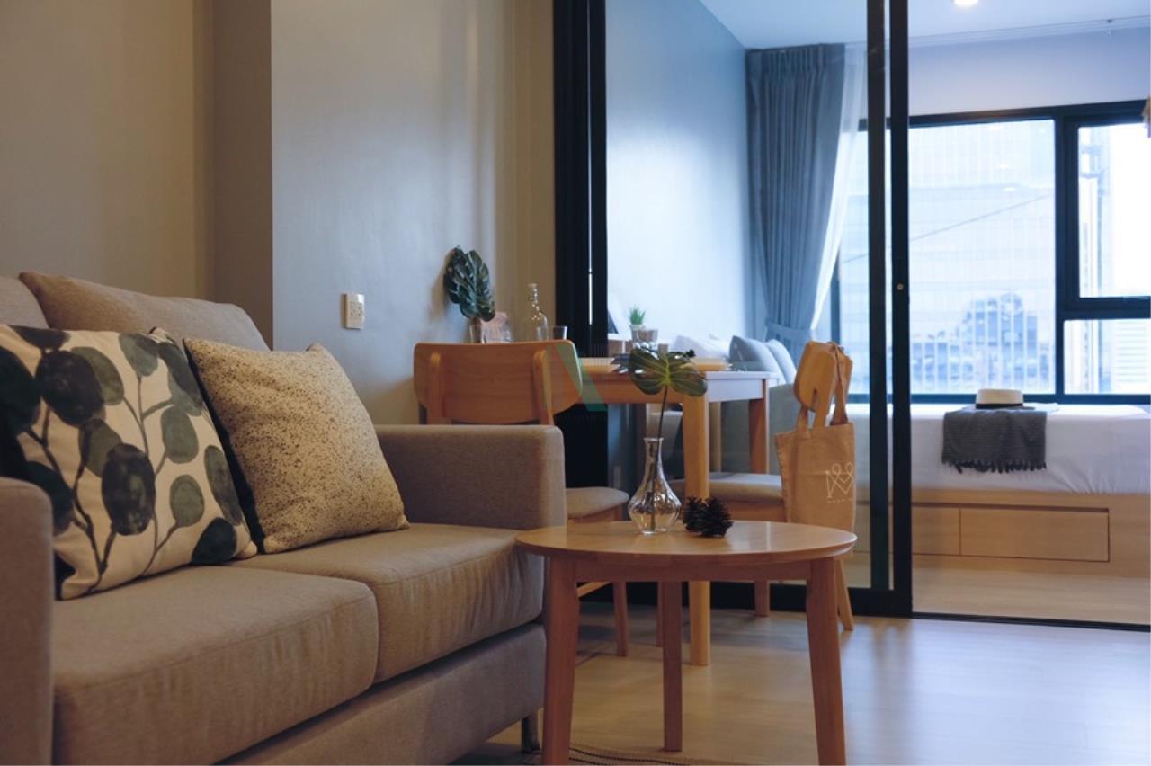 NOPPON REAL ESTATE CO.,LTD. Agency's For rent Life Asoke 1 Bedroom 32th floor near MRT Phetchaburi 1
