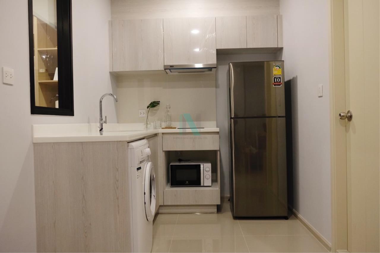 NOPPON REAL ESTATE CO.,LTD. Agency's For rent Life Asoke 1 Bedroom 32th floor near MRT Phetchaburi 2