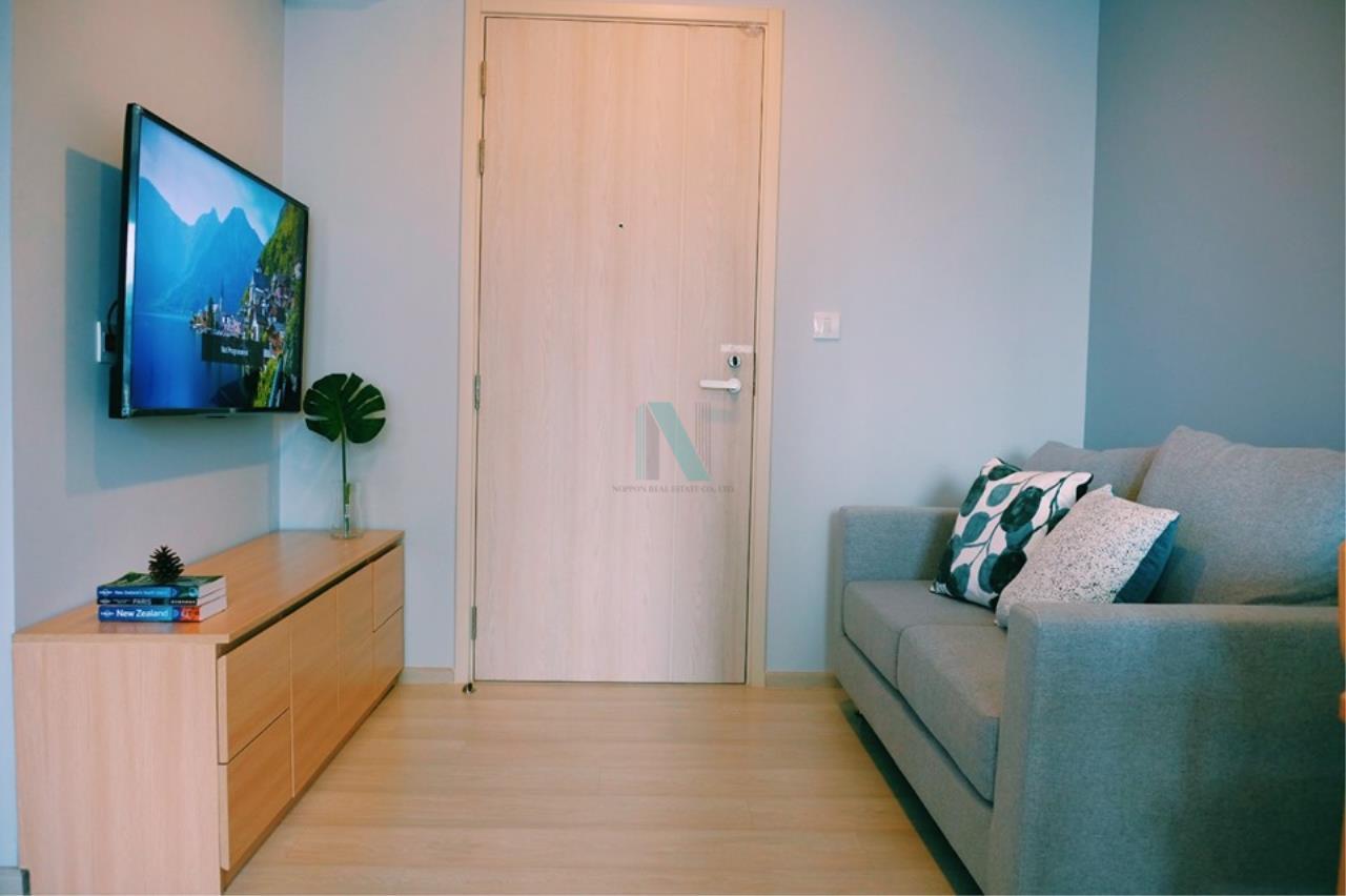 NOPPON REAL ESTATE CO.,LTD. Agency's For rent Life Asoke 1 Bedroom 32th floor near MRT Phetchaburi 8