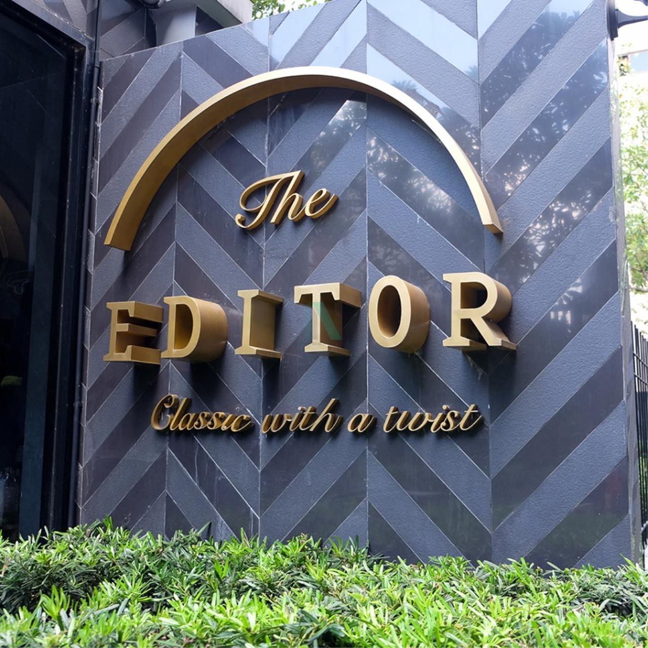 NOPPON REAL ESTATE CO.,LTD. Agency's For rent The Editor Saphan Khwai 1 bedroom 11th floor BTS Saphan Khwai 8