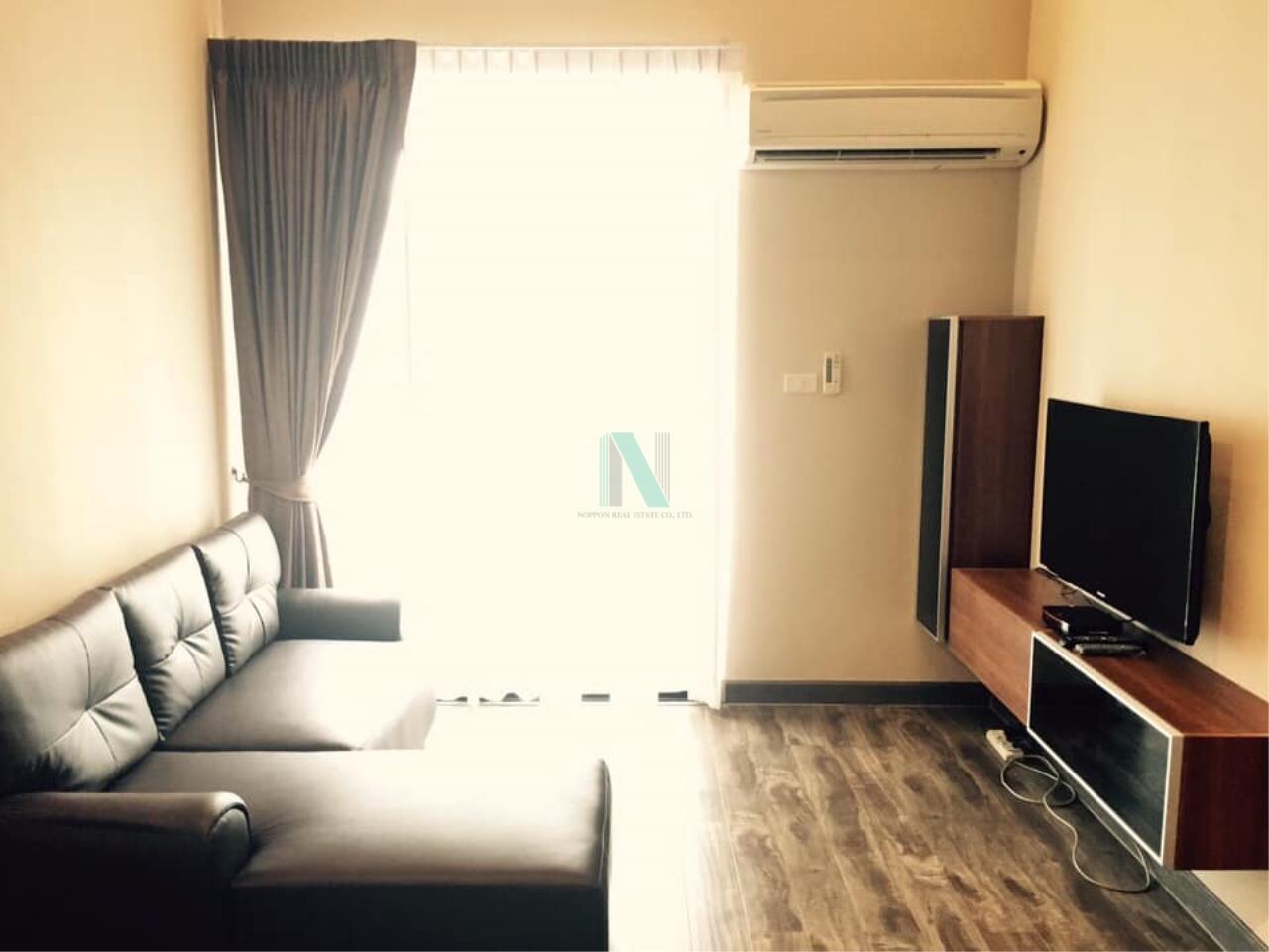 NOPPON REAL ESTATE CO.,LTD. Agency's For rent Prime I-Zen Condo Ladprao 71 DUPLEX Floor 5 Building B 1