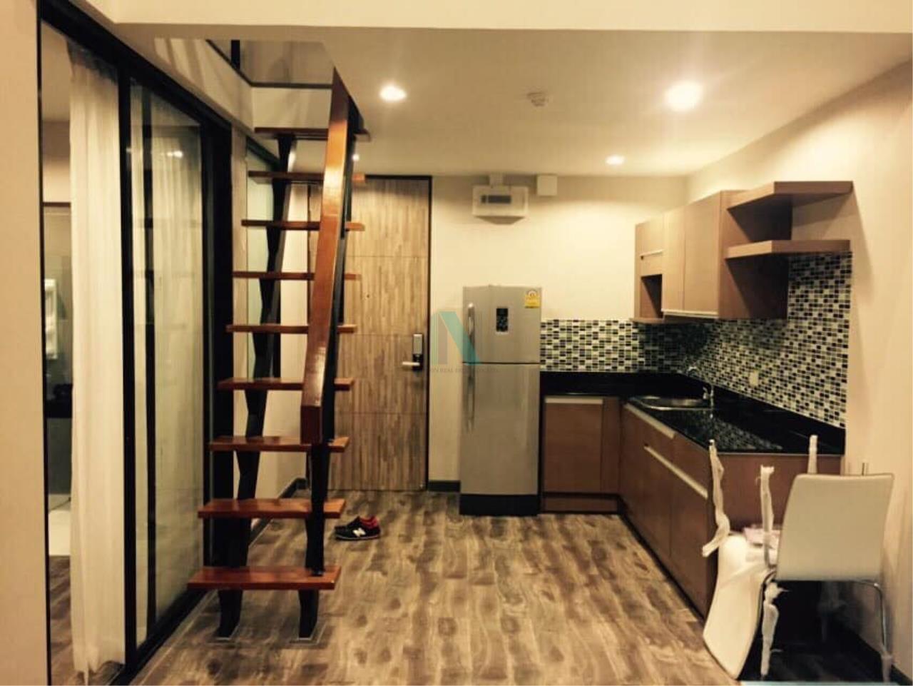 NOPPON REAL ESTATE CO.,LTD. Agency's For rent Prime I-Zen Condo Ladprao 71 DUPLEX Floor 5 Building B 4