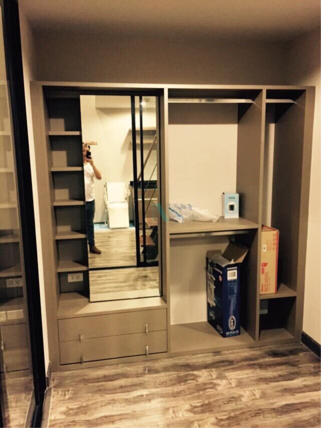NOPPON REAL ESTATE CO.,LTD. Agency's For rent Prime I-Zen Condo Ladprao 71 DUPLEX Floor 5 Building B 5