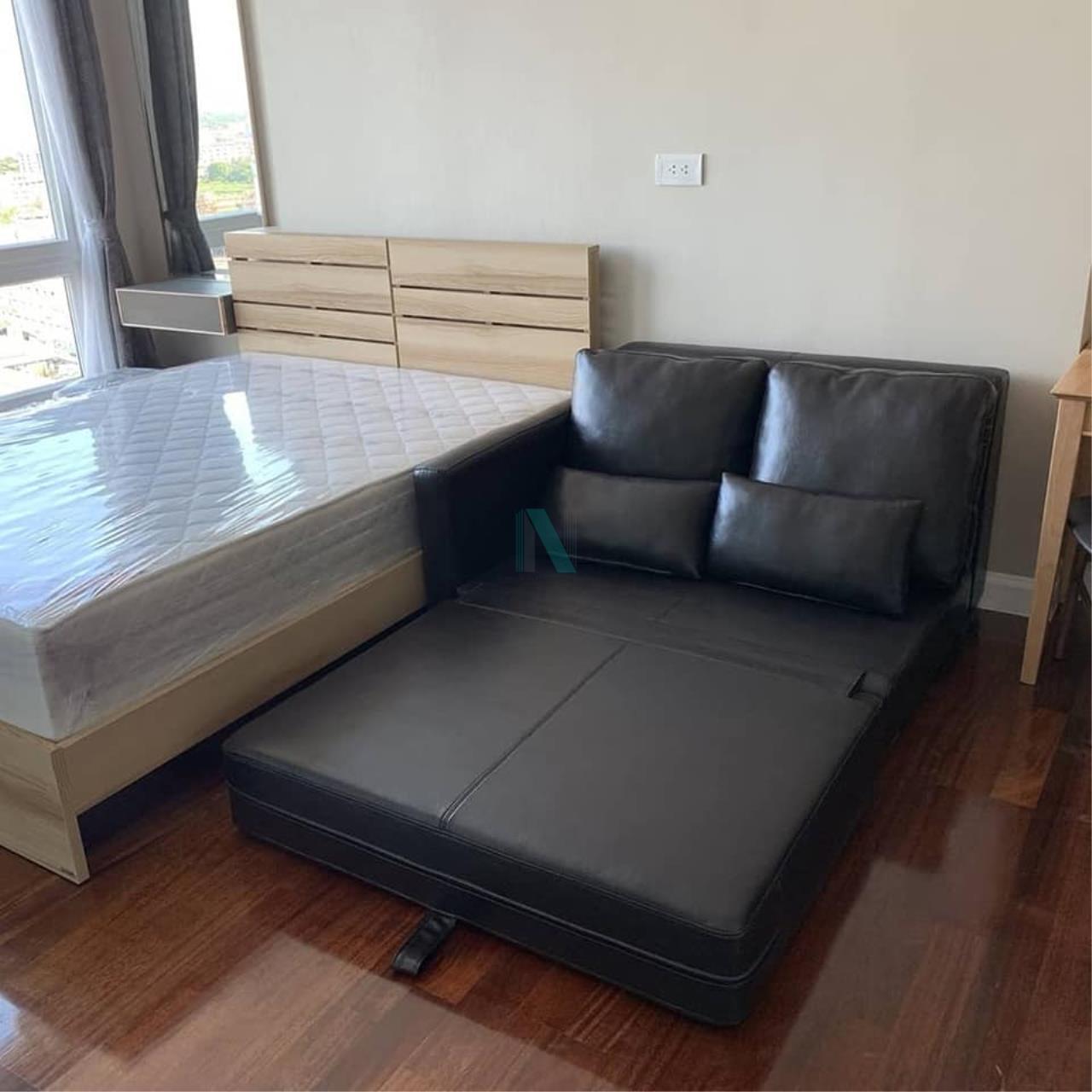 NOPPON REAL ESTATE CO.,LTD. Agency's For Rent The Metropolis Samrong Interchange STUDIO Floor 14 Building B 2