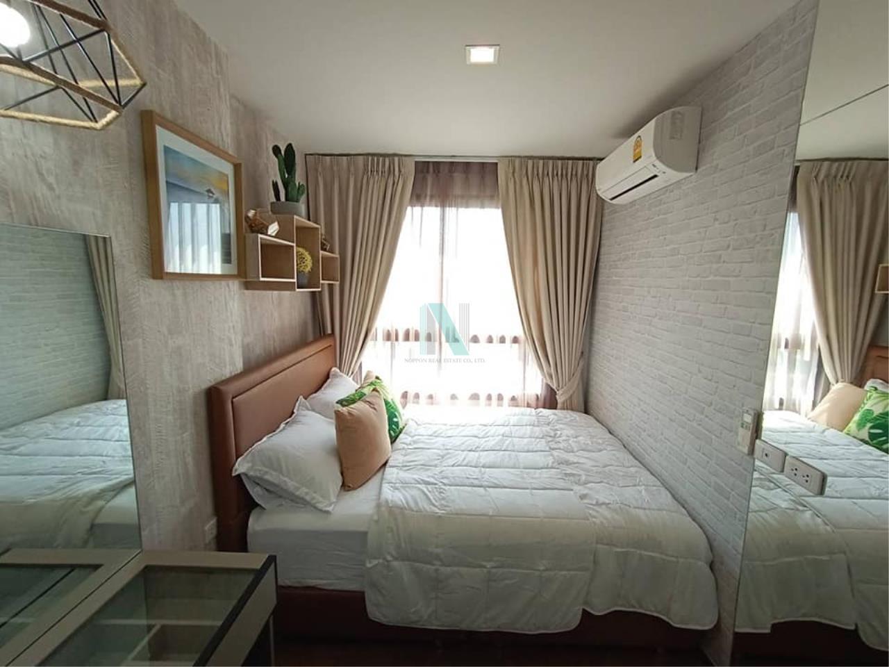 NOPPON REAL ESTATE CO.,LTD. Agency's For rent Ideo Sukhumvit 93 2 bedroom 34th Floor Building A BTS Bang Chak 1