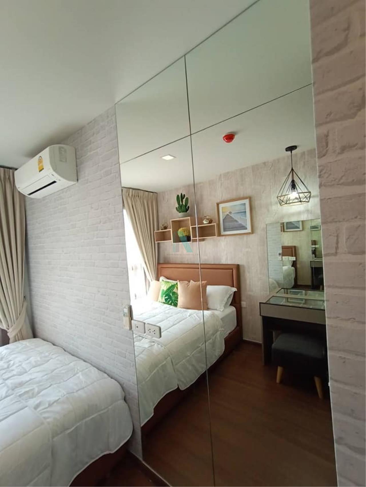 NOPPON REAL ESTATE CO.,LTD. Agency's For rent Ideo Sukhumvit 93 2 bedroom 34th Floor Building A BTS Bang Chak 3