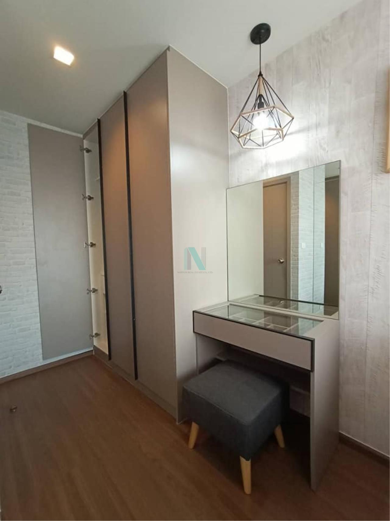 NOPPON REAL ESTATE CO.,LTD. Agency's For rent Ideo Sukhumvit 93 2 bedroom 34th Floor Building A BTS Bang Chak 5
