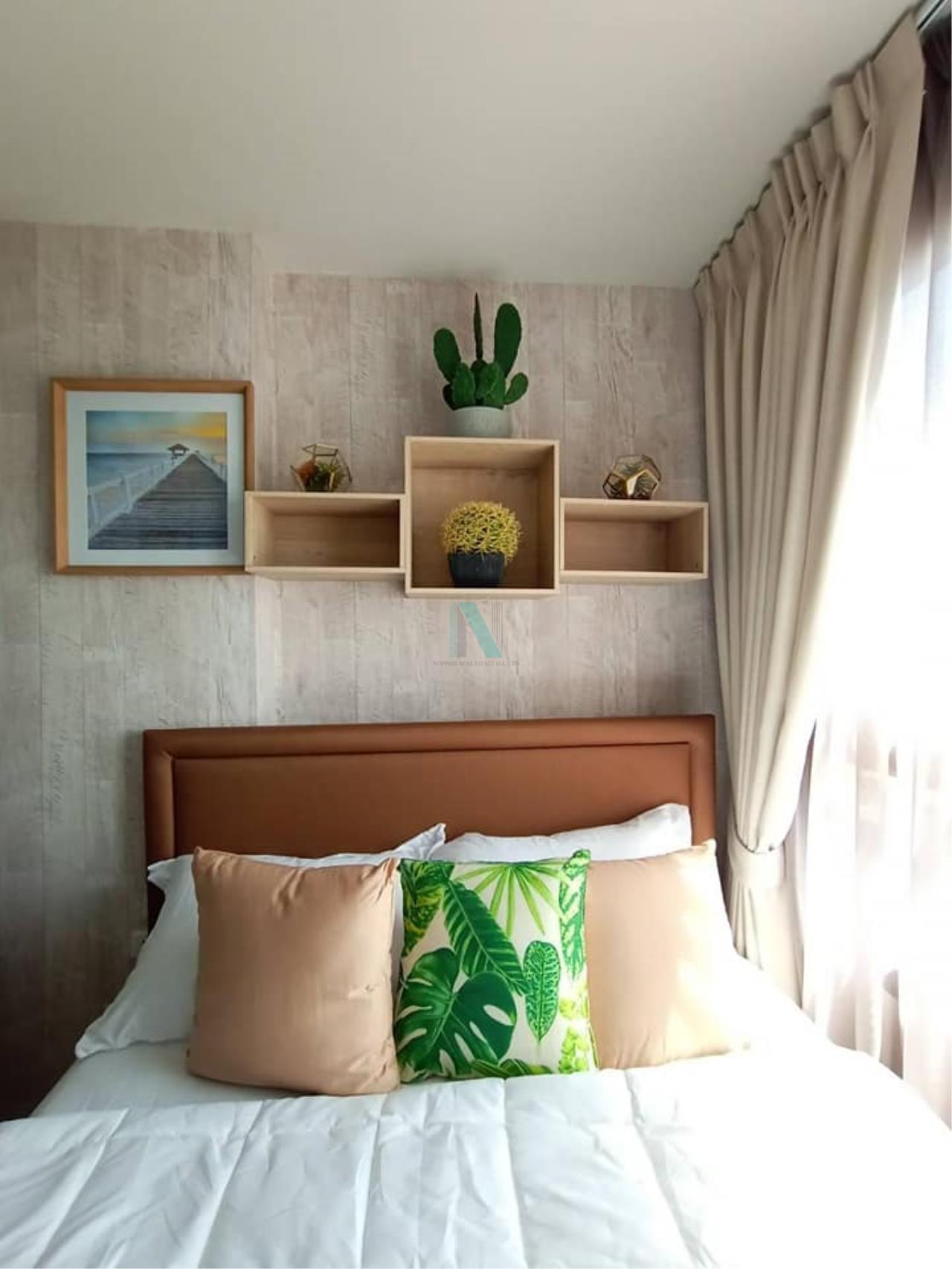 NOPPON REAL ESTATE CO.,LTD. Agency's For rent Ideo Sukhumvit 93 2 bedroom 34th Floor Building A BTS Bang Chak 7