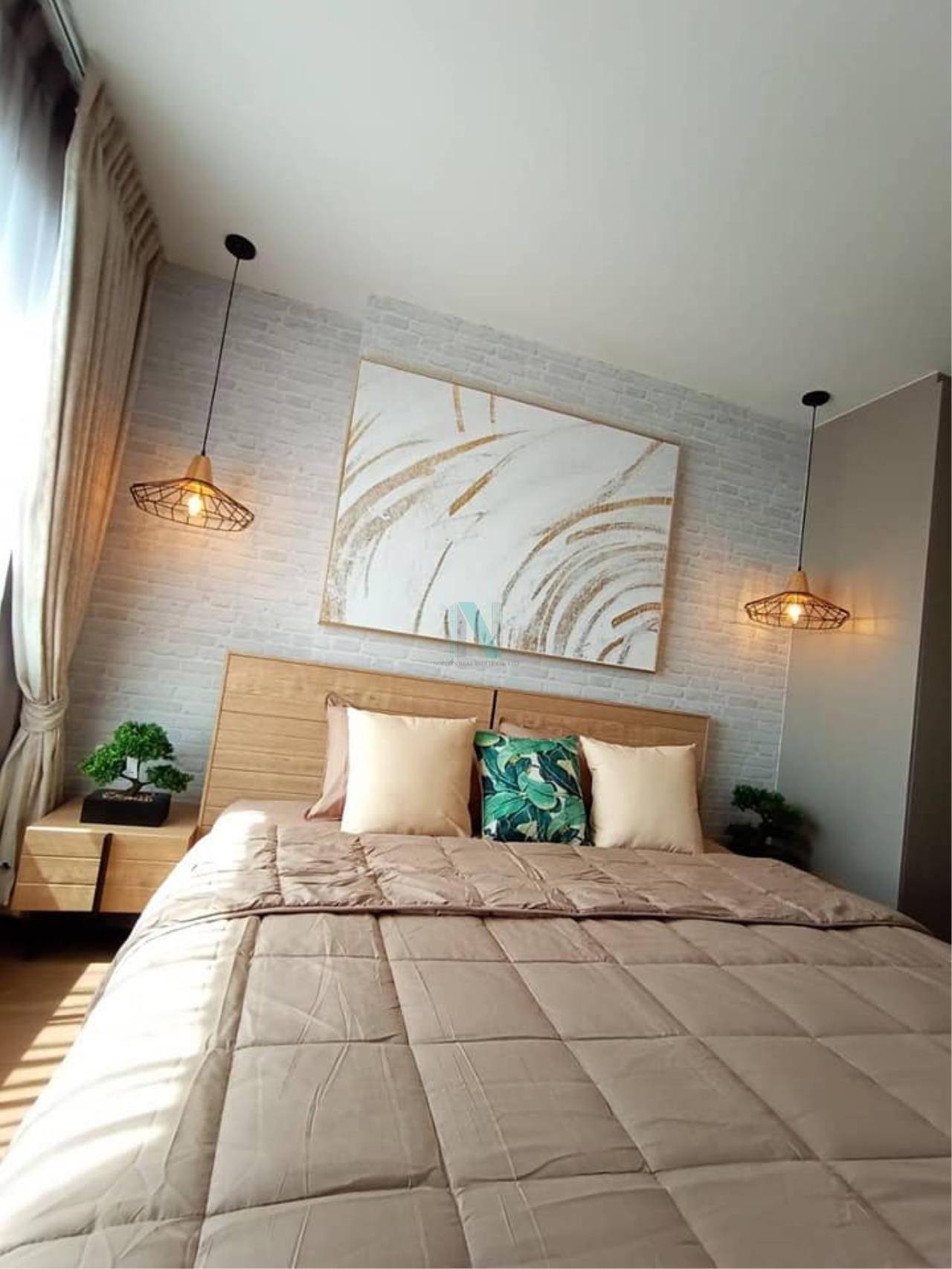 NOPPON REAL ESTATE CO.,LTD. Agency's For rent Ideo Sukhumvit 93 2 bedroom 34th Floor Building A BTS Bang Chak 8
