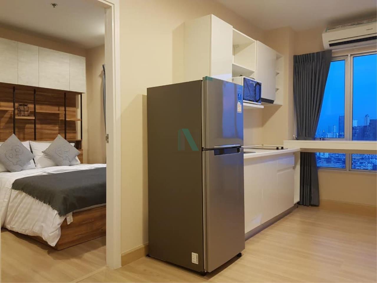 NOPPON REAL ESTATE CO.,LTD. Agency's For rent MOTIF CONDO 1 Bedroom 22nd Floor near BTS Wongwian Yai 2