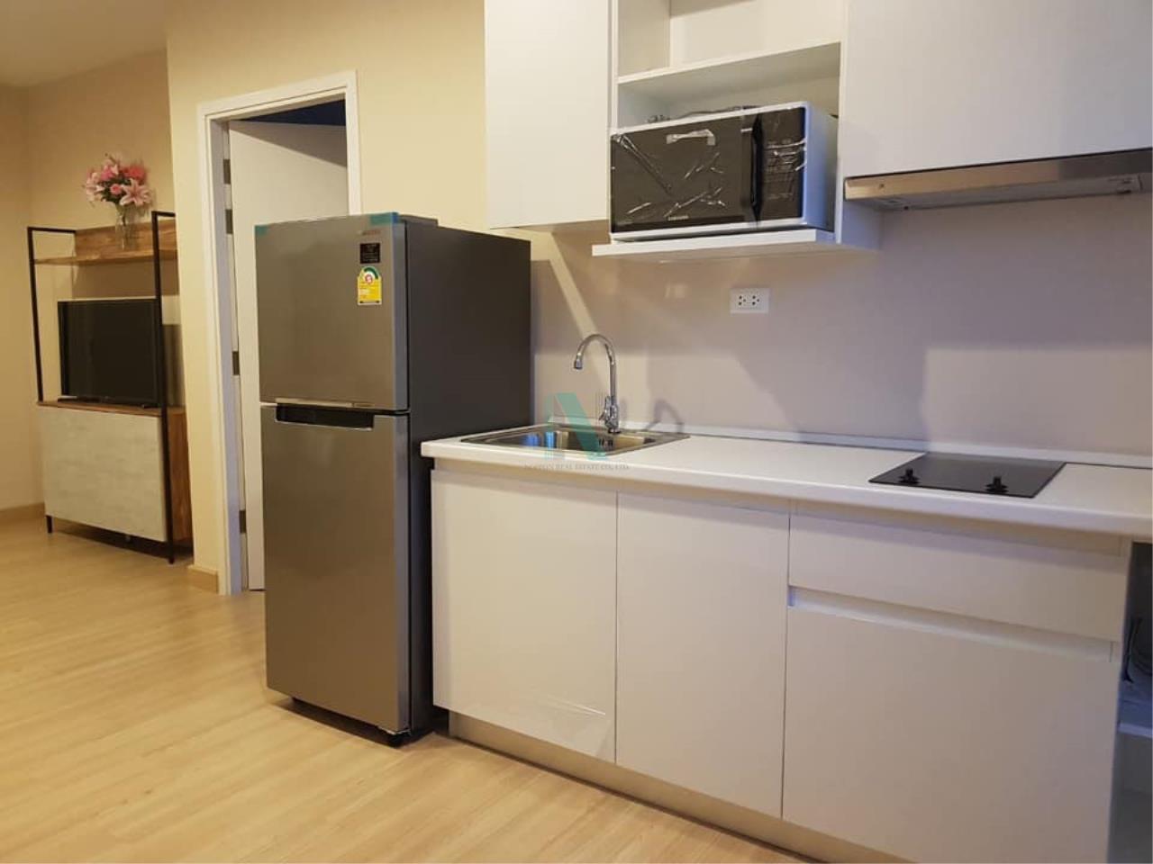 NOPPON REAL ESTATE CO.,LTD. Agency's For rent MOTIF CONDO 1 Bedroom 22nd Floor near BTS Wongwian Yai 4