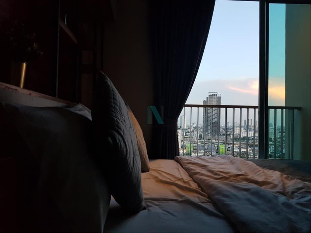 NOPPON REAL ESTATE CO.,LTD. Agency's For rent MOTIF CONDO 1 Bedroom 22nd Floor near BTS Wongwian Yai 5